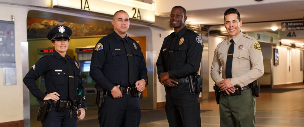 Officers from all areas of Metro's law enforcement team.